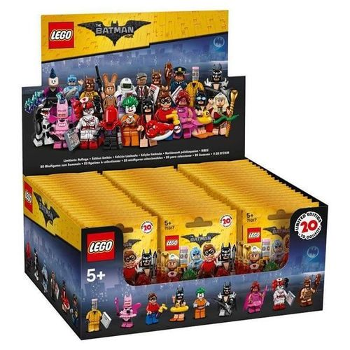 LEGO® Minifigures 71017 The LEGO® Batman Movie - 60er Display